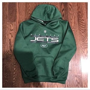 {NFL} New York Jets Hooded Sweatshirt, M (10/12)